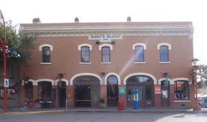 Hart's Block, 529-539 Herald Street. Built in 1891.
