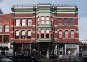 550-554 Johnson Street, built in 1893 for the B.C. Land & Investment Company