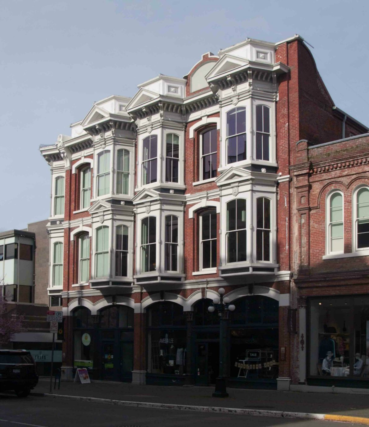 550-554 Yates Street, originally built in 1883 as the Oriental Hotel