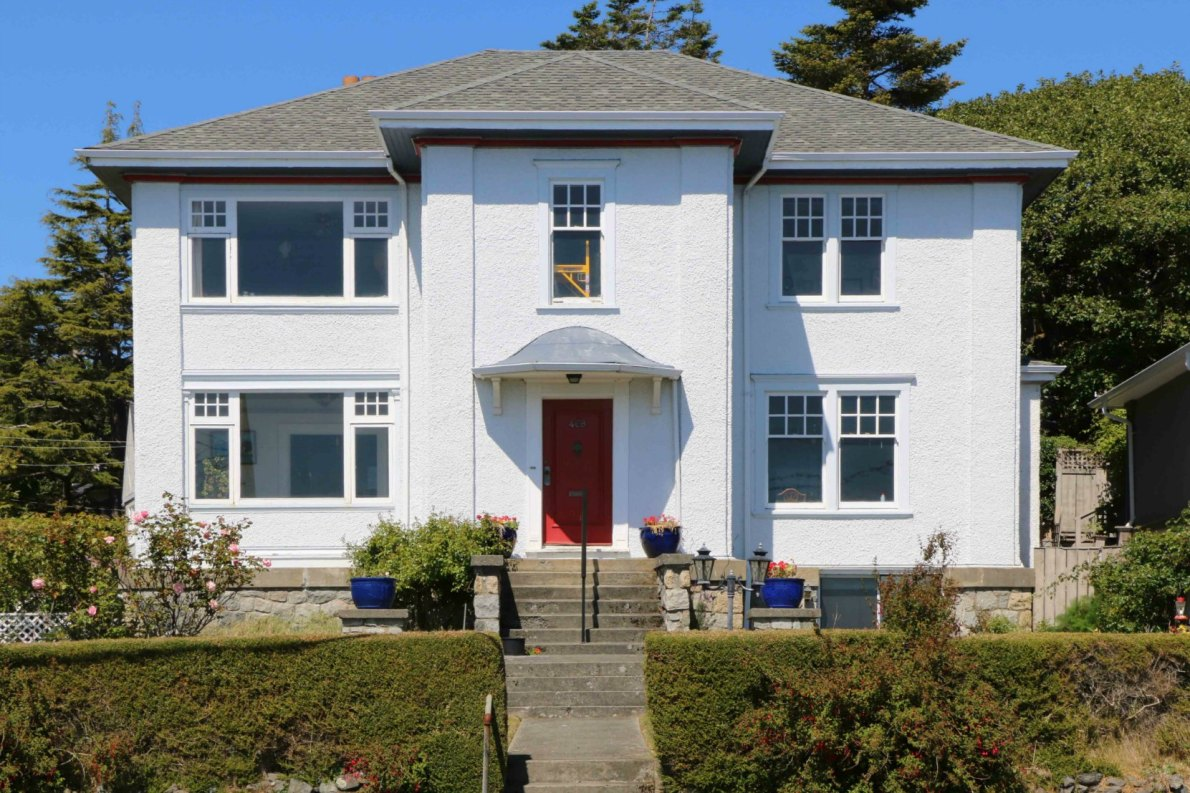 468 Beach Drive, built in 1920 by architect Samuel Maclure for Ernest Halsall