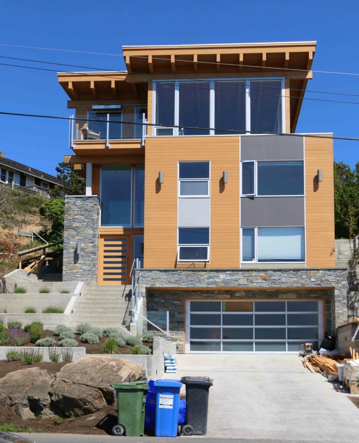 526 Beach Drive, Oak bay. Built in 2014.