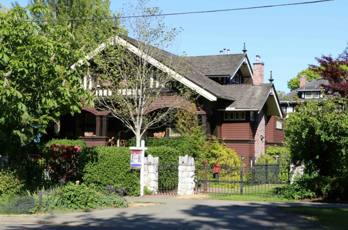 25 Cook Street, built in 1911 by architect H.J Rous Cullen, for realtor Louis York