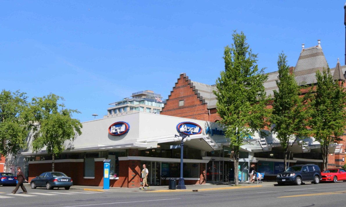 Rexall Drugs, 912 Douglas Street, occupies a building that was designed by architect John Di Castri.