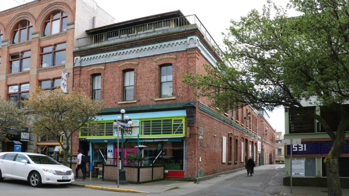 533 Yates Street (photo by Victoria Online Sightseeing Tours)