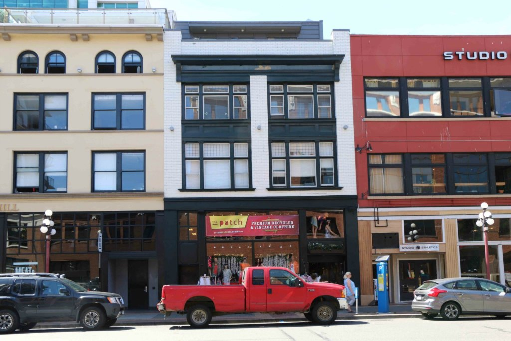 The Finch Building, 719 Yates Street (photo: Victoria Online Sightseeing Tours)