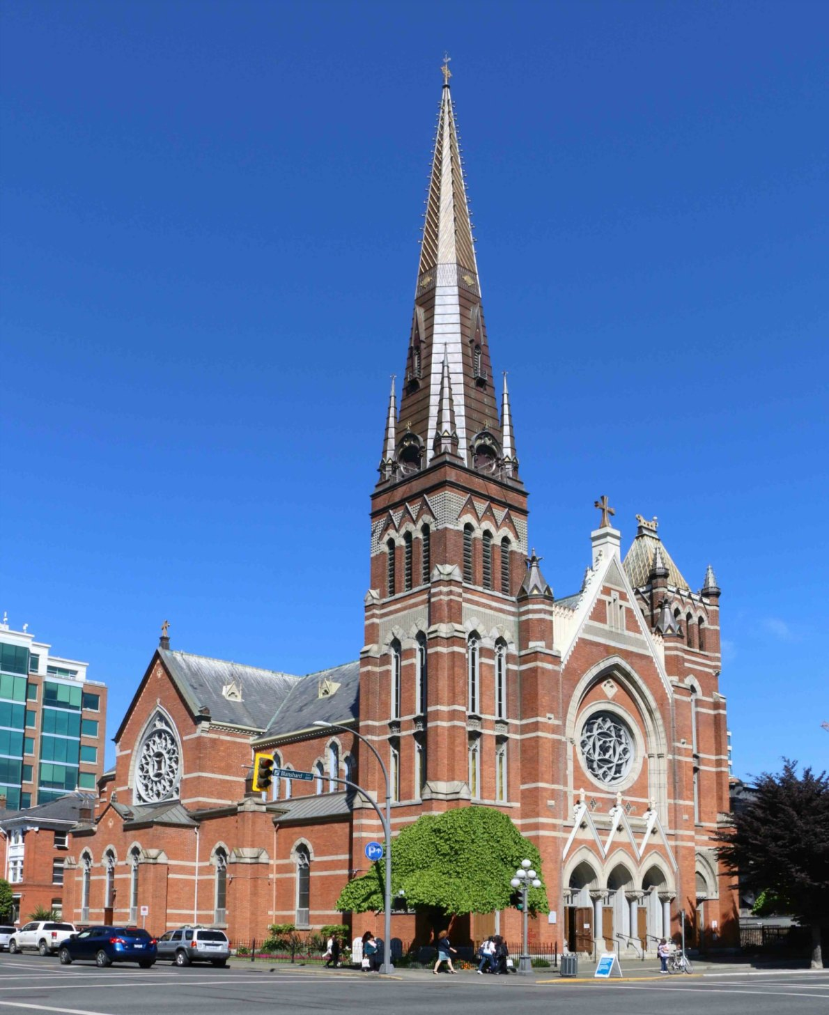 St. Andrew's Roman Catholic Cathedral, 1202 Blanshard Street (photo by Victoria Online Sightseeing Tours)