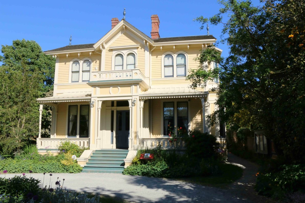 Emily Carr House, 207 Government Street, built circa 1863, is now a National Historic Site of Canada