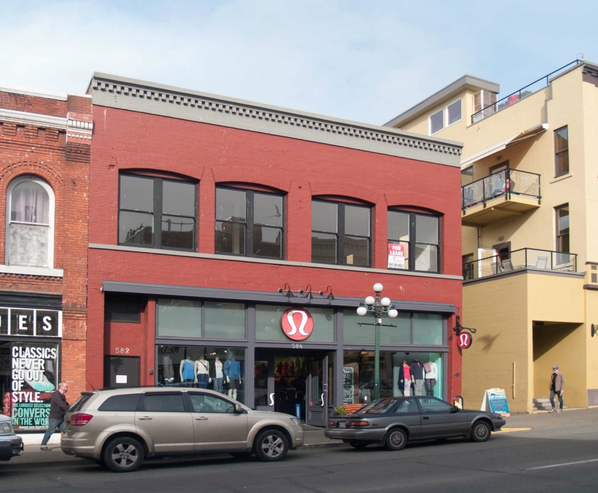582-584 Johnson Street (photo by Victoria Online Sightseeing Tours Inc.)