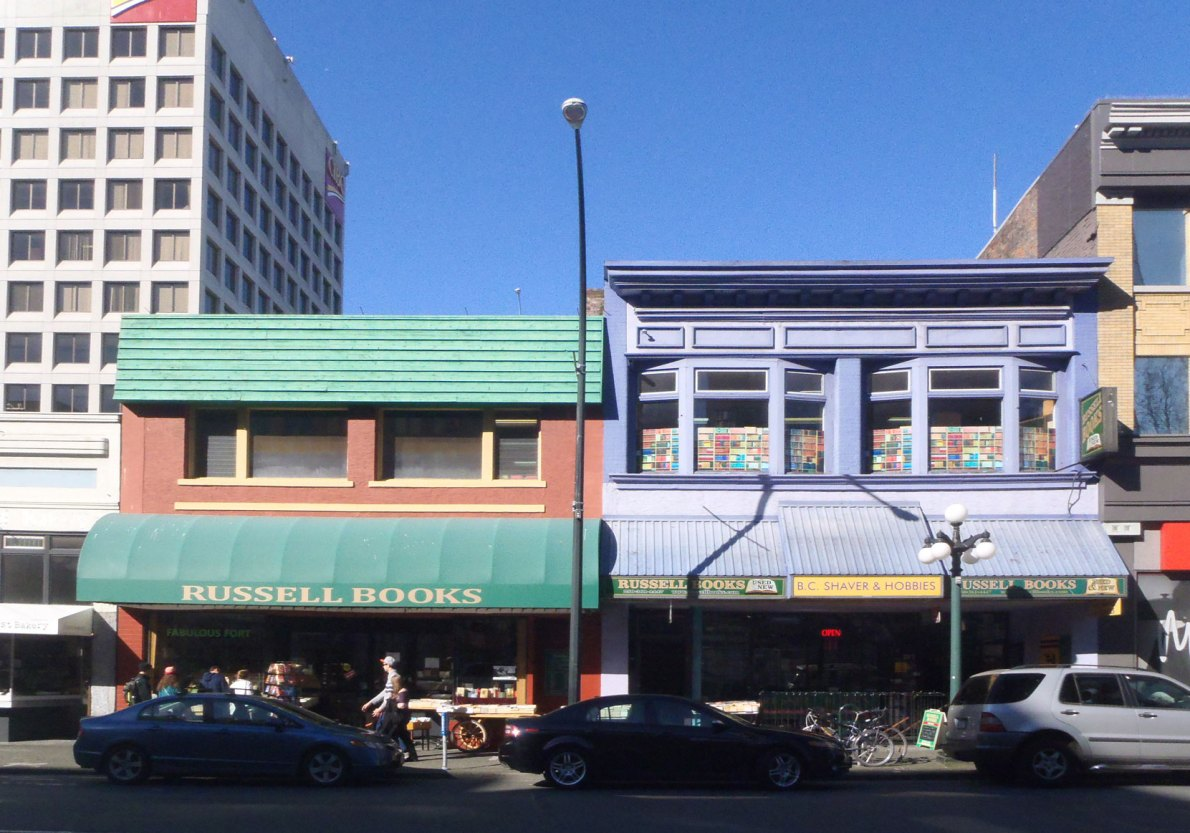 732 Fort Street (left) and 734 Fort Street (right) (photo: Victoria Online Sightseeing Tours)