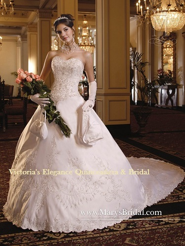 f84a23fdced Wedding Dress by P.C. Mary s   5753 – Victoria s Elegance ...