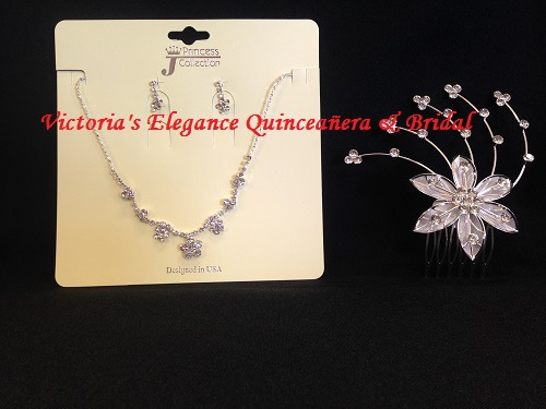 Jewelry Set & Headpiece