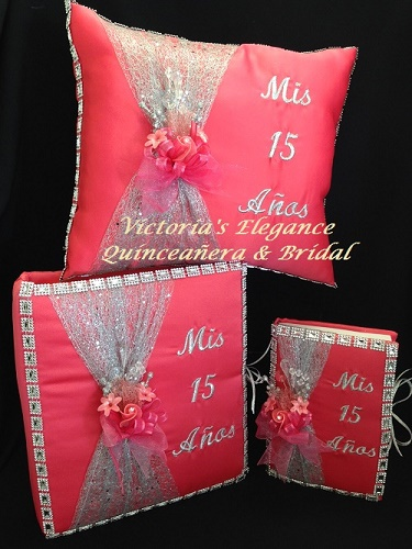 www.victoriaselegance.com Bible, Photo Album & Ring/Tiara Pillow