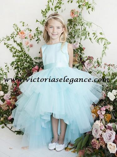 6802912f1a17 Tulle Girl's Dress TTU5668BABY – Victoria's Elegance Quinceañera ...