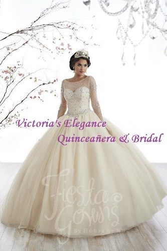 Style 56321 Full Tulle Ball Gown available @ www.victoriaselegance.com