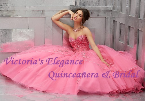 Pretty In Pink Style 60024 available at www.victoriaselegance.com