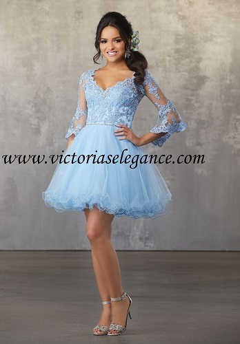 Style 9473 available @ www.victoriaselegance.com Shown in Bahama Blue