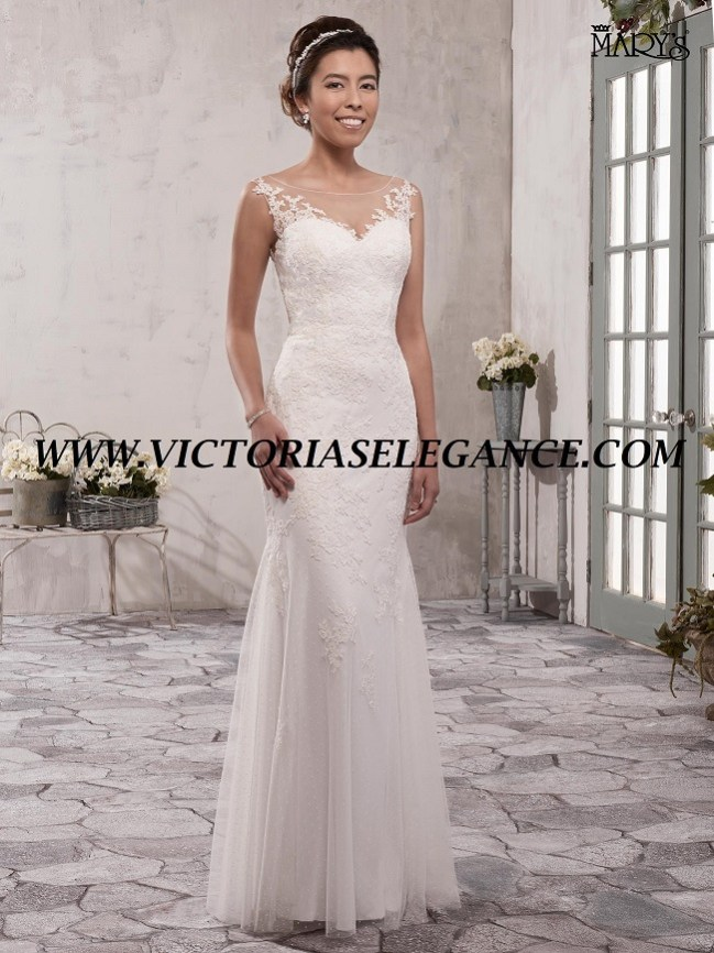 MB1004 Mermaid Wedding Dress available @ www.victoriaselegance.com