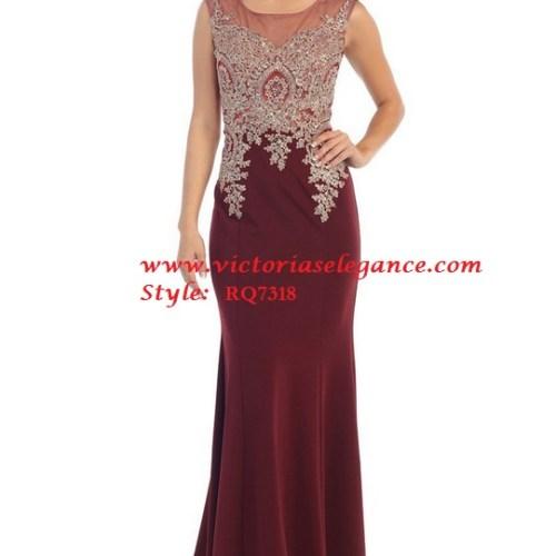 Gold Metallic Embroidered Long Dress, Damas' Dress, Homecoming Dress, Pageant Dress, Prom Gala Pageant