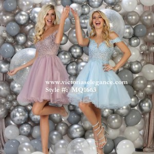Short tulle dress, bridesmaid dress, dama's dress, prom gala pageant, sweet 16
