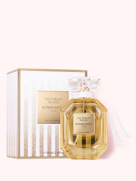 Victoria's Secret new Bombshell Gold Eau de Parfum, 3.4 fl oz, offModelBack, 2 of 2