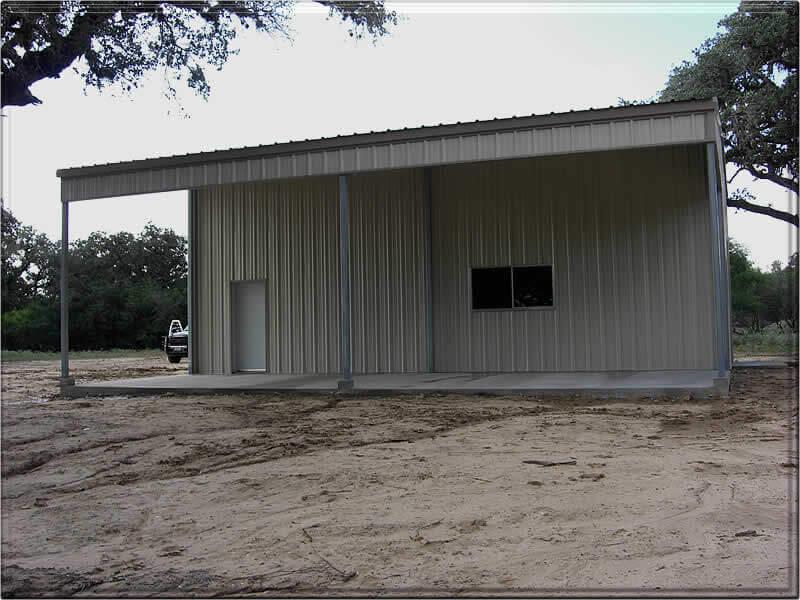 Residential Steel Metal Building Erector Contractor Victoria Texas