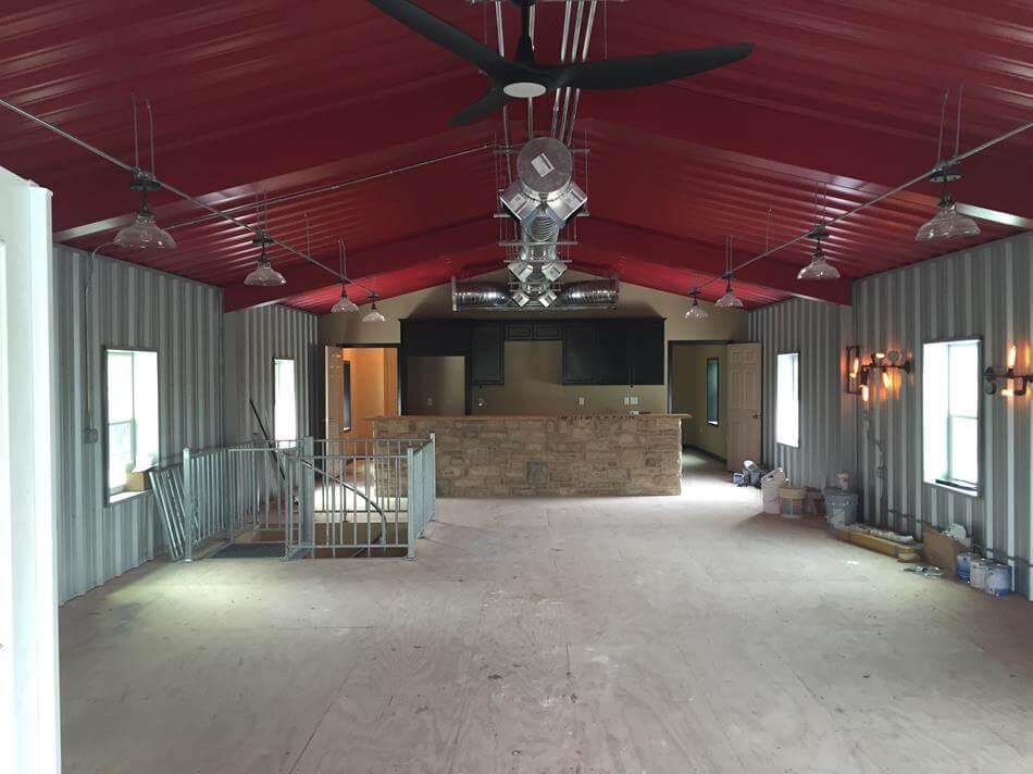 Pole Carport Metal Barn