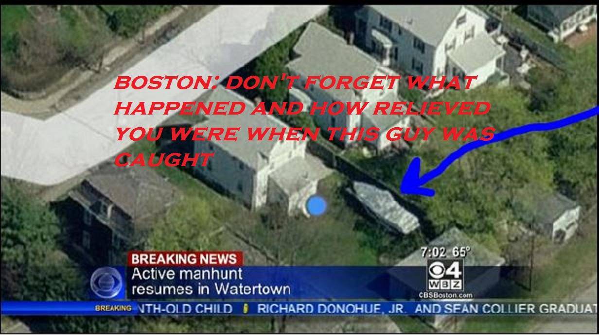 Boston Marathon Bomber Suspect In Custody Going To