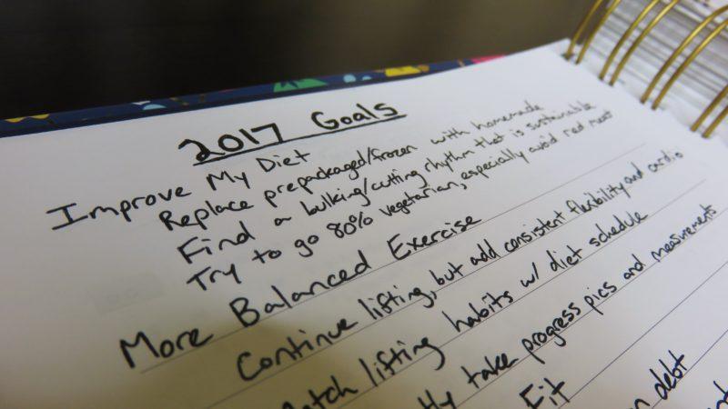 Simplified Planner 207 Goals