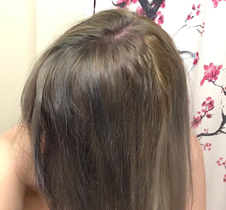 My Hair Looked Like a Quilt: oVertone Extreme Silver and