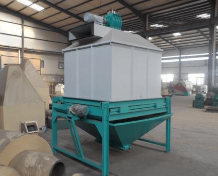 pellet cooler machine