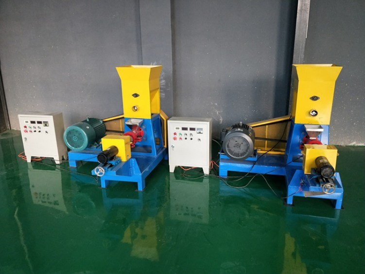 floating fish feed making machine suplier