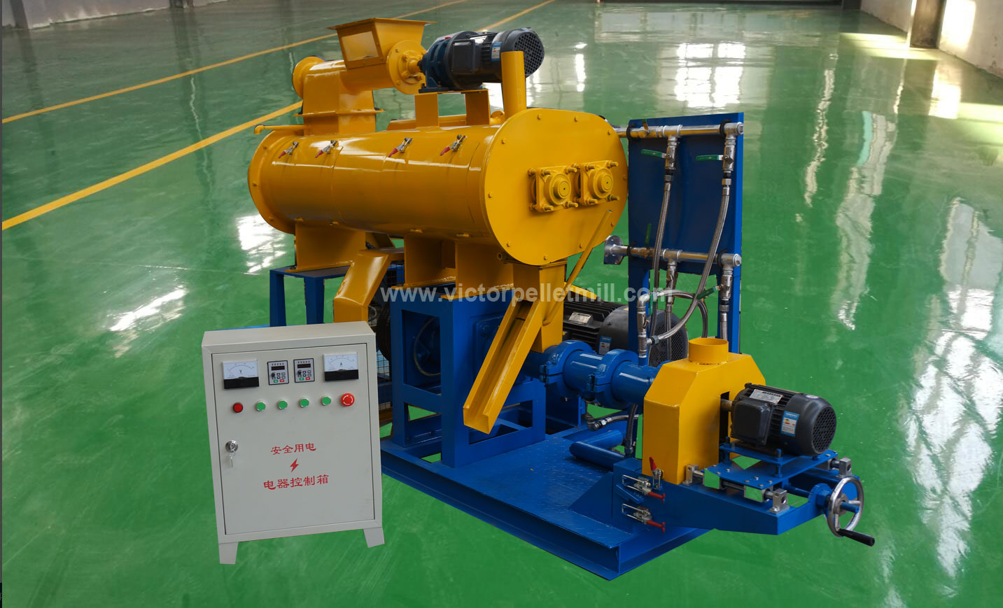 cost of fish feed extruder machine