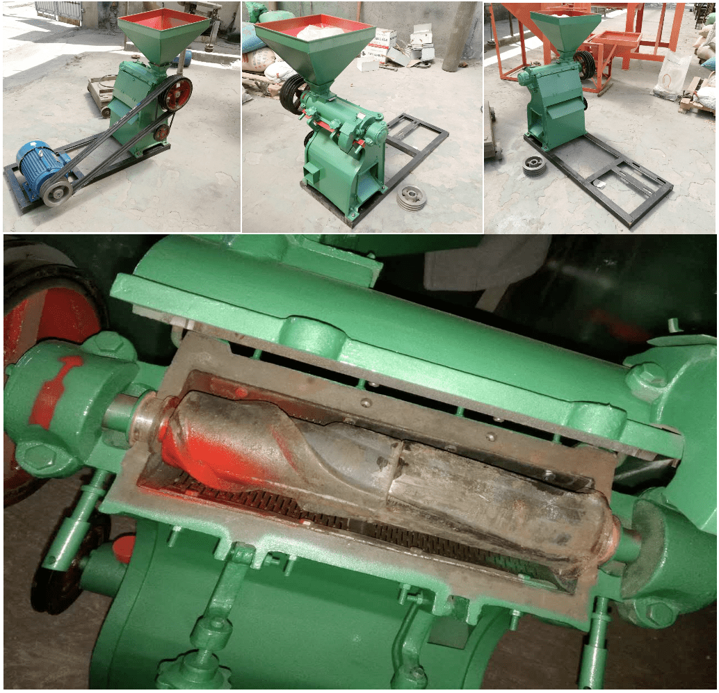 Grain peeler machine