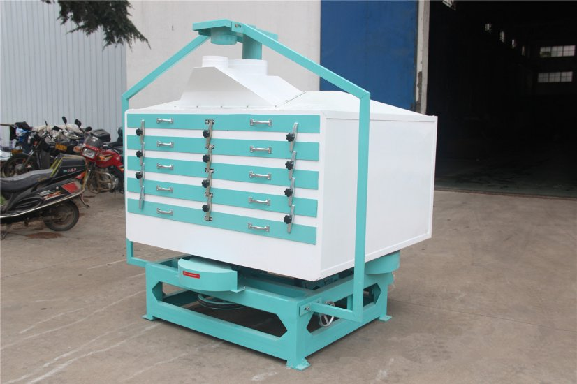 Rice grader machine