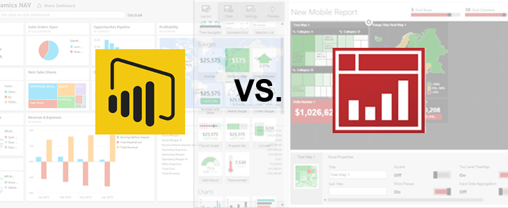 Comparing Power BI and SSRS Mobile Report Publisher – Victor