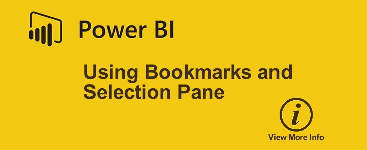 Using Bookmarks to Show/Hide Information in Your Power BI Report