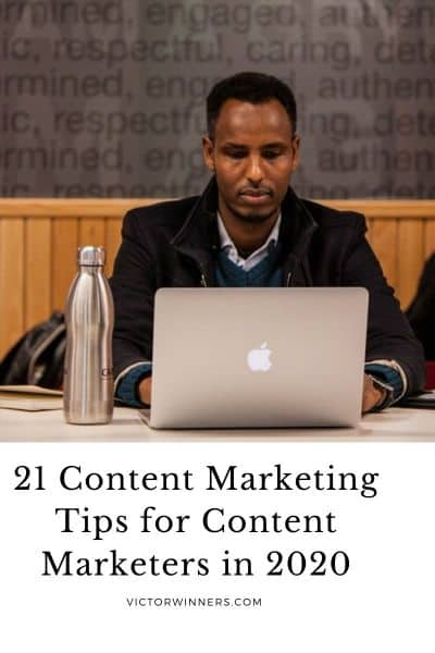21 Content Marketing Tips For Content Marketers