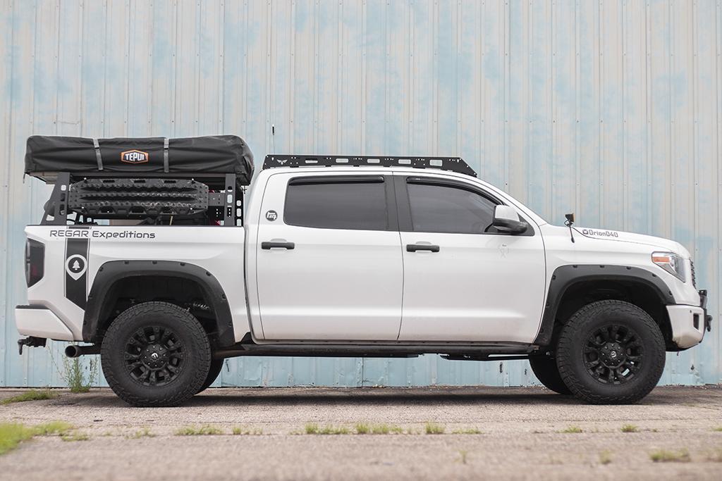 tundra bed rack modular base full size truck bed rack