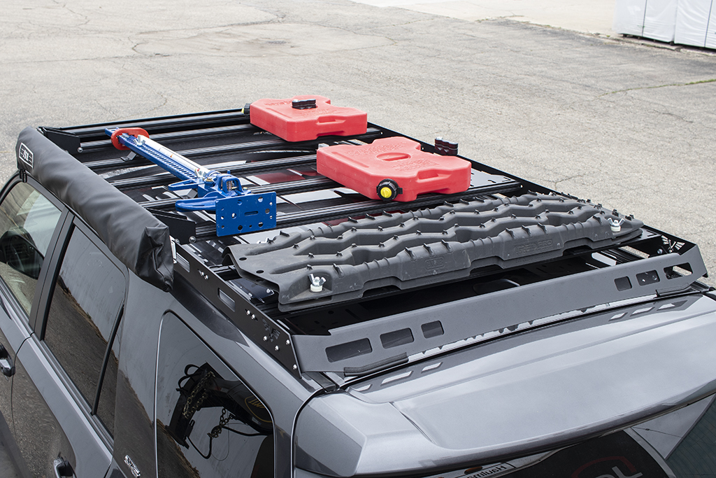 roof rack accessory mount