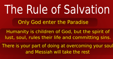 A rule of salvation