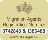 Migration Agents Registration Number 0742843
