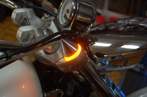 Fork Covers Spike Chrome Turn Signal Led Victory Motorcycle