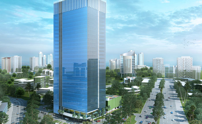 Prominent-Office-Tower-Alam-Sutra-Tangerang-Indonesia