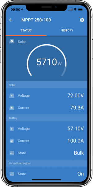 VictronConnect  MPPT Solar Charge Controllers [Victron Energy]