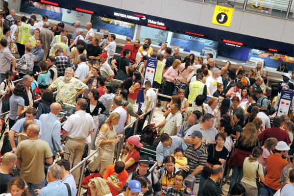 Caos aeroportos britânicos