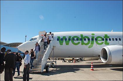 Webjet pode assumir aviões da BRA