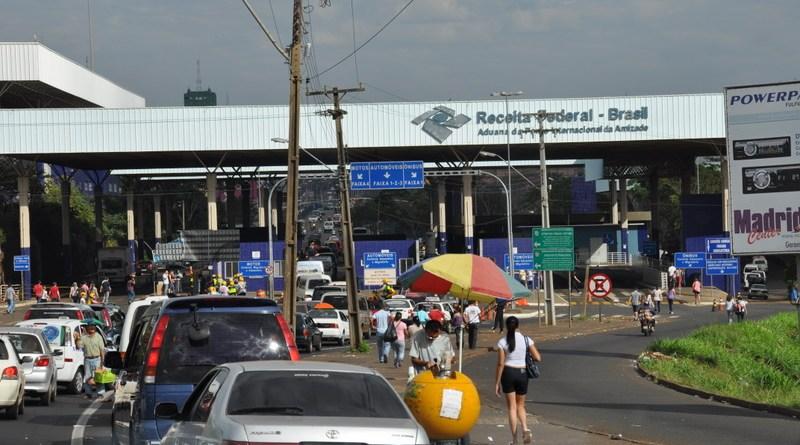 Fronteira Brasil x Paraguai