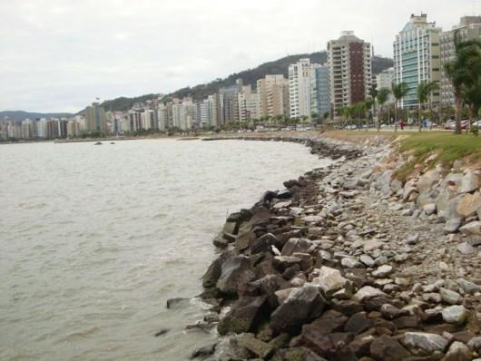 Calçadão Beira-Mar - Florianópolis