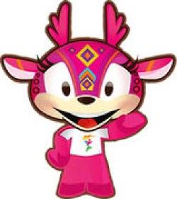 Mascote Huichi - Panamericano - Guadalajara