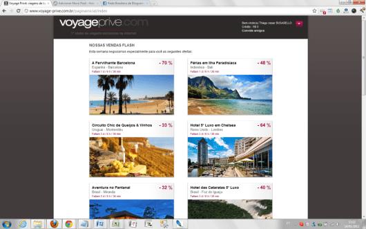 Clubes de viagens - Voyage-Prive